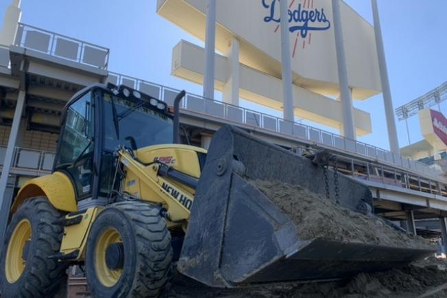 Dodger Stadium Job